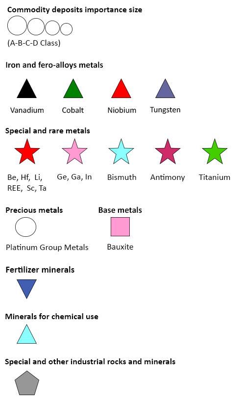 EGDI | Critical Raw Materials Map